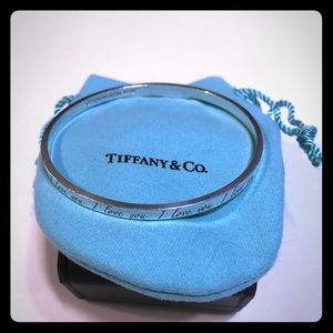 Tiffany & Co I Love You Bangle
